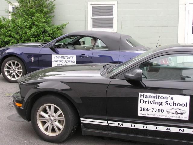 Hamiltons Driving School - Mustang